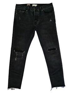 Topman Crop Stretch Skinny mens jeans size 32