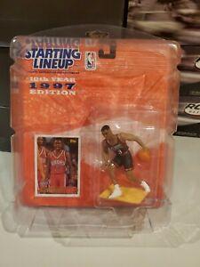 1997 Allen Iverson Basketball Starting Lineup Philadelphia 76ers Mint ROOKIE