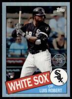 2020 Topps Chrome 1985 #85TC-17 Luis Robert RC - Chicago White Sox
