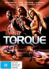 Torque -very good condition DVD Region 4