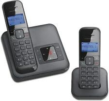 T-Sinus CA34 Duo Schnurlos Telefon 2 Mobilteile Anrufbeantworter Schnurloses