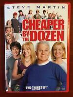 Cheaper by the Dozen (DVD, 2003) - G0906