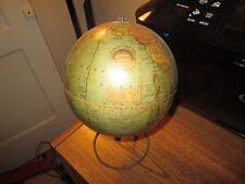 1930 Weber costello Peerless 6 inch terrestrial globe