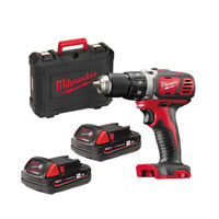MILWAUKEE | M18 BDD-202C Trapano Avvitatore 50Nm | 2 Batterie 18V 2.0Ah