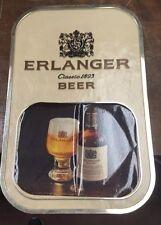 Schlitz beer sign wall tacker Erlanger brand old brewery bar tavern pub