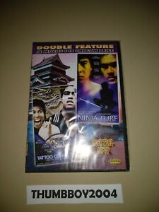 *New Sealed DVD* TATTOO CONNECTION + NINJA TURF Bolo Yeung/Jim Kelly Martial Art