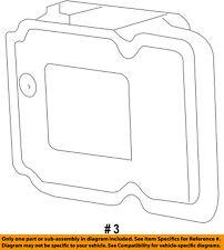 CHRYSLER OEM ABS Anti-Lock Brake System-Control Module 68030939AB