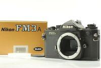 【MINT in Box】   Nikon FM3A Black 35mm SLR Film Camera Body from Japan #475