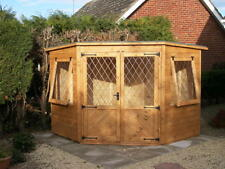 8 x 8 Corner Summer House        Fully T & G Claddings