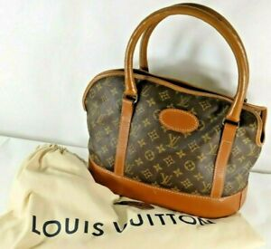 Vintage Louis Vuitton French Company Sac Chien Dog Pet Carrier Tote Bag