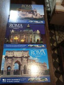 libro :ROMA. Foto d'epoca e panoramiche di oggi. 3 volumi. AA.VV. Entropia.