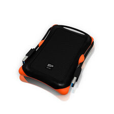 2TB External Portable Hard Disk Drive, HDD, USB 3.0, Silicon Power Armor A30