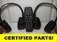 WIRELESS HEADPHONES & DVD REMOTE FOR 2011 GMC ACADIA