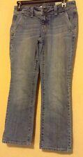Gap Jeans Juniors Women Straight Leg Blue Jeans Size 1 Waist 29 Inseam 25.5