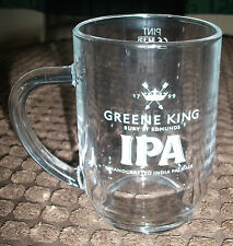 BRAND NEW GREENE KING IPA PINT GLASS TANKARD