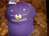 HORAM HORNETS THE GAME   VINTAGE HAT CAP BUCKLE STRAPBACK