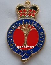 WELSH GUARDS BADGE - Enamel - Safety Pin Fixing - Excellent Quality