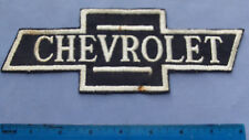 """Circa 1968 Chevrolet """"Bowtie"""" Embroidered Cloth Patch"""