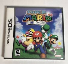 Super Mario 64 DS Version New Factory Sealed