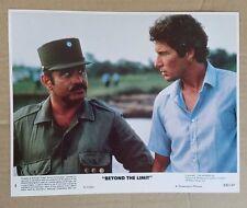 """""""BEYOND THE LIMIT"""" 1983 ORIGINAL COLOR COMPLETE 8x10 STILL SET Richard Gere MINT"""