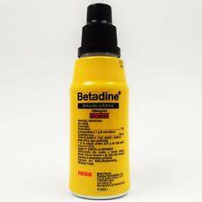 Betadine Povidone Iodine 125ml First Aid Antiseptic FREE SHIPPING