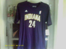 12cd49d3ec3 adidas Youth Indiana Pacers Paul George Name and Number T-shirt - Size XL  Navy