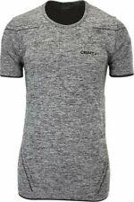 Funktionsshirt Sportshirt Shirt CRAFT Active Comfort, Herren, kurze Ärmel, grau