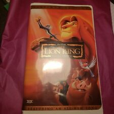 The Lion King VHS Video Tape Special Platinum Edition Disney Clamshell Case