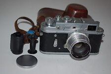 Zorki 4 VINTAGE 1956 Fotocamera telemetro sovietica JUPITER - 8 LENTE. 5653737. REGNO Unito la vendita
