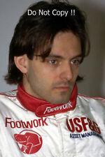 Alex CAFFI movimento dei piedi FRECCE F1 Ritratto Fotografia 1990