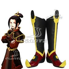 Avatar The Last Airbender Azula Azura Cosplay Boots Shoes Halloween Comic Con