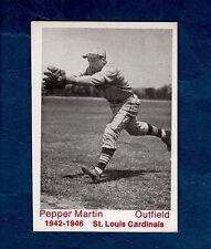 Johnny L. R. Pepper Martin, 1942-1946 St. Louis Cardinals ~ 1975 Tcma, Ltd.