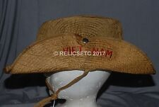 """VERY NEAT AUTHENTIC VIETNAM THEATER MADE JUNGLE BOONIE HAT """"NA TRANG 70 -72"""""""