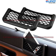 Universal Car Multifunctional  Storage Net String Bag Phone Holder Ticket Pocket