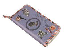 Porte-monnaie en cuir synthétique pour femme