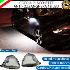 KIT PLACCHETTE LED CORTESIA SPECCHIETTI VW GOLF 5 V 6000K ANTI POZZANGHERA