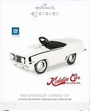 1969 Chevrolet Camaro SS Kiddie Car Classic Keepsake Ornament 2017 Die Cast