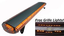 "47"" Hazard LED Emergency Amber Warning Light Full Size Tow Security Strobe"