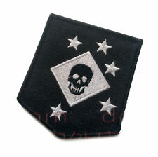 USMC MARINE RAIDERS Embroidered Badge Patch Mens Bags Appliques Black Patches