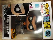 Funko Pop robin with baby hot topic 599