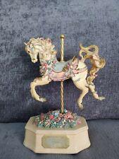 Westland music box carousel horse Andante Toni Baley collection Vintage