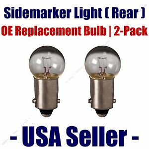 Sidemarker (Rear) Light Bulb 2pk - Fits Listed Plymouth Vehicles - 1895