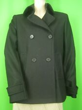 THEORY Black Wool NWT Double-Breasted Lined Jacket M/L