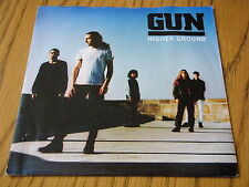 "GUN - HIGHER GROUND     7"" VINYL PS"