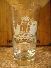 Set of 2 Charlotte NC Oktoberfest 2012 Beer Glass Toasted Head Tasters Glasses