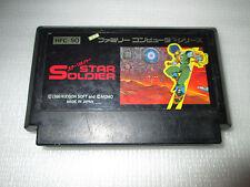 STAR SOLDIER    famicom / nintendo