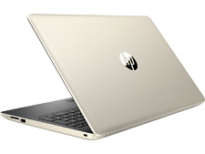 "HP 15.6"" 1080 Notebook/Laptop PC Core i7-8565U 12GB 128GB SSD WiFi BT W10 Gold"