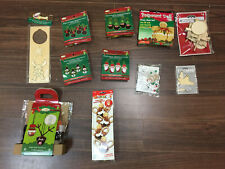 Christmas Crafts lot from Dollar store and other places.