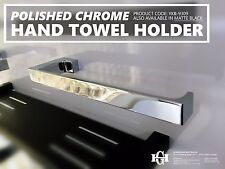 MODERN Polished Chrome SQUARE Solid Brass HAND TOWEL HOLDER Bathroom Accessories