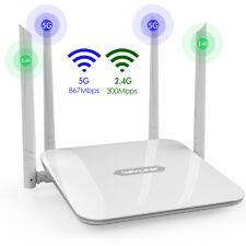 Wavlink AC1200 WiFi Router 2.4GHz/5GHz Gigabit Wireless Extender Booster Lot WPS